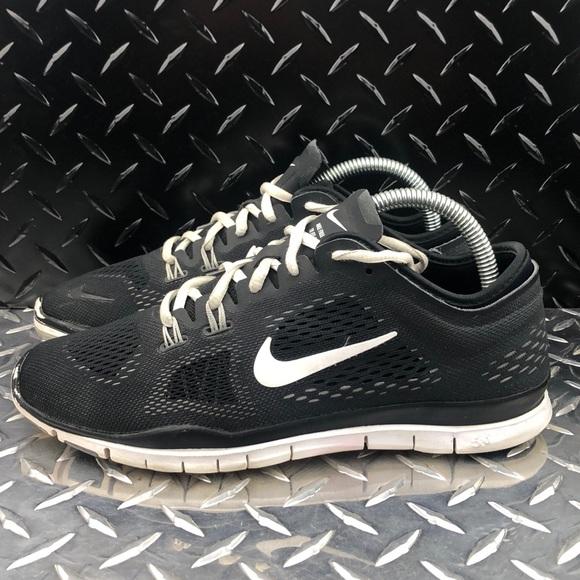 Brilliant Design US Women's Nike Free 5.0 Tr Fit 5 Print Training Shoes BlackMetallic SilverWhiteVolt Factory Outlet